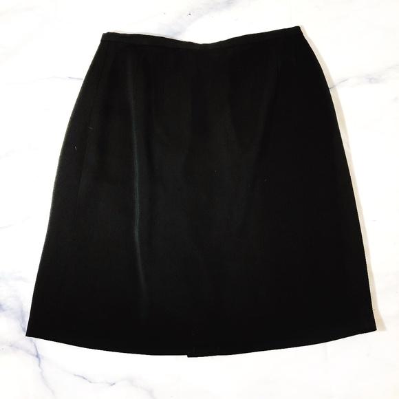 ff6668b82ab9 Harve Benard Skirts | Harve Bernard Vintage Black Pencil Skirt ...